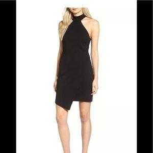 Bailey 44 Black Foolish Games Halter Jersey Dress
